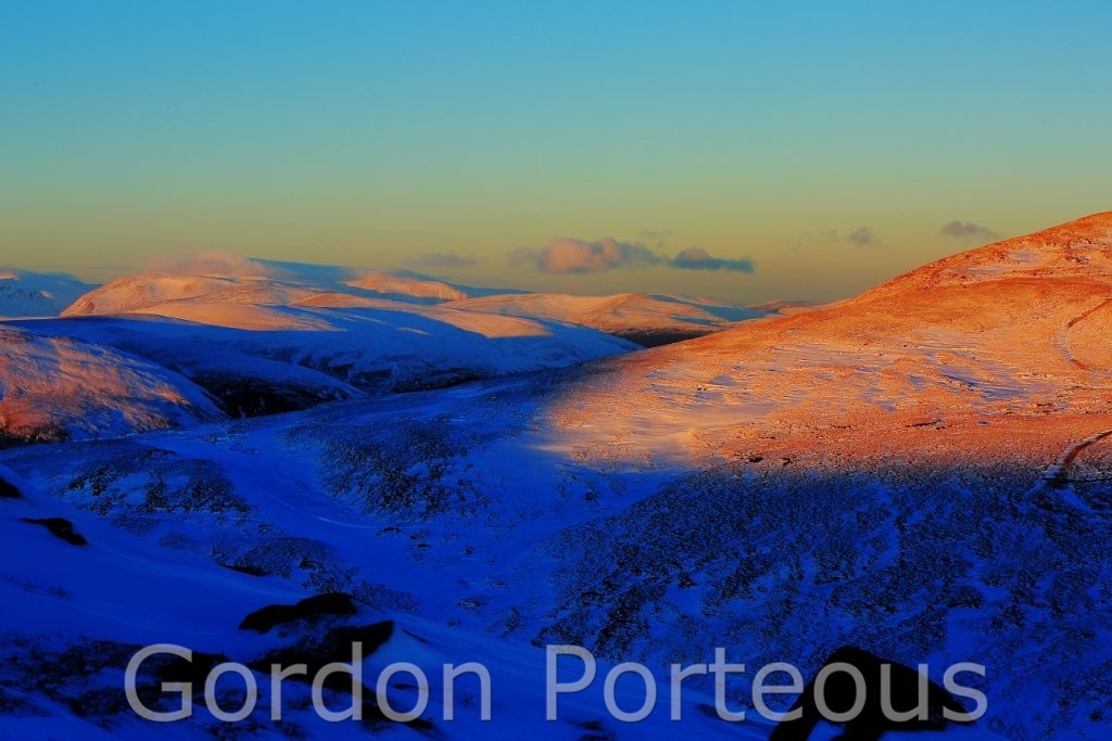 Cairngorm sunset