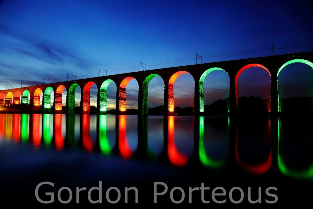 Royal border bridge night 1