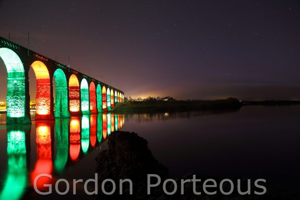 Royal border bridge night 2